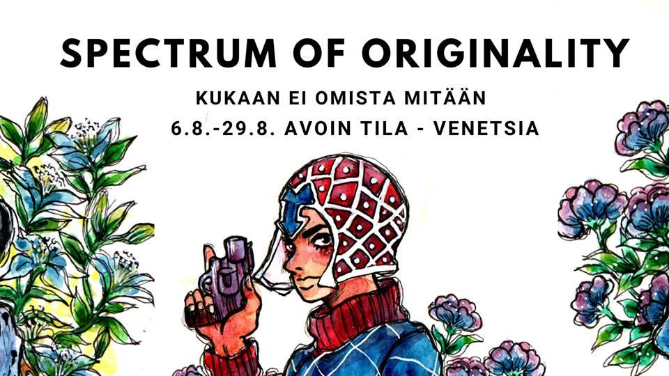 Kukaan ei omista mitään / Spectrum of originality -näyttely